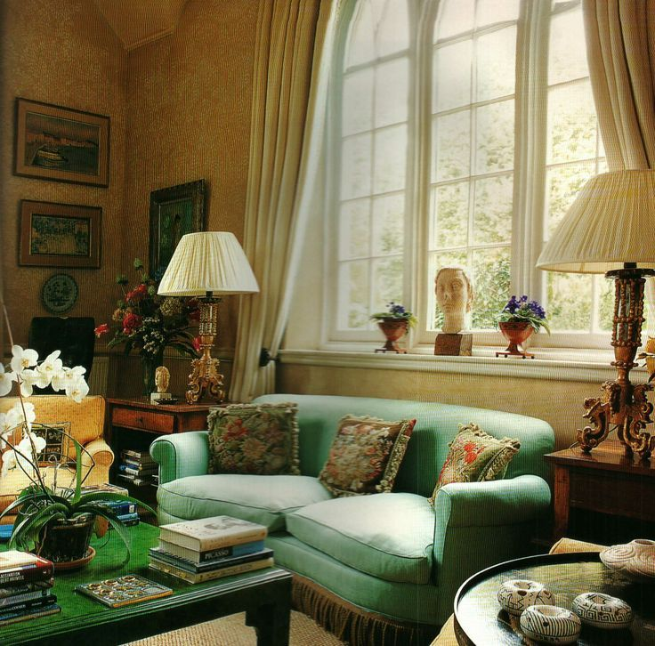 English Country sitting room