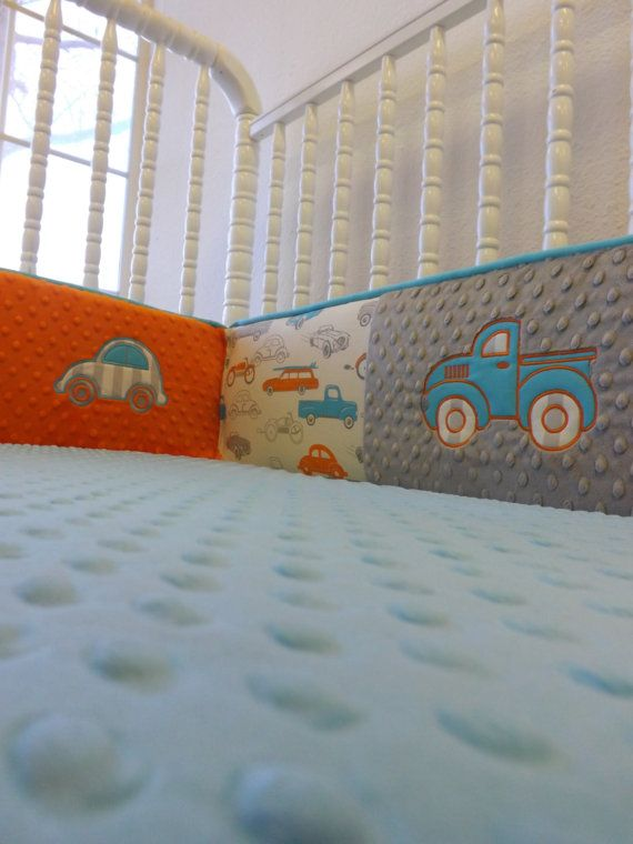 Hey, I found this really awesome Etsy listing at http://www.etsy.com/listing/123115406/baby-bedding-made-to-order-4-pc-boy-crib