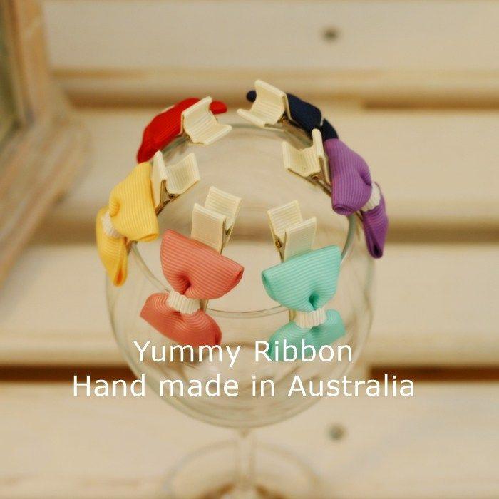 yummy ribbon cute bows handmade ebay