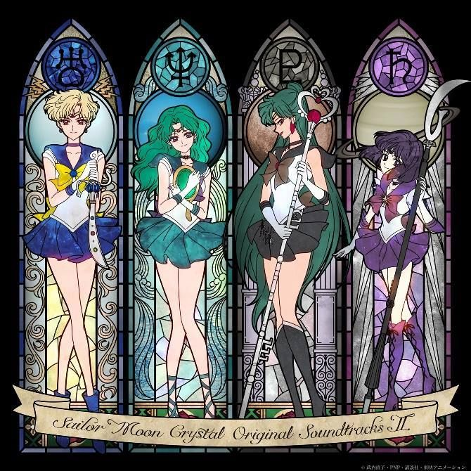 Anime: Sailor Moon  Personagens: Sailor Urano, Sailor Netuno, Sailor Pluto, Sailor Saturno.