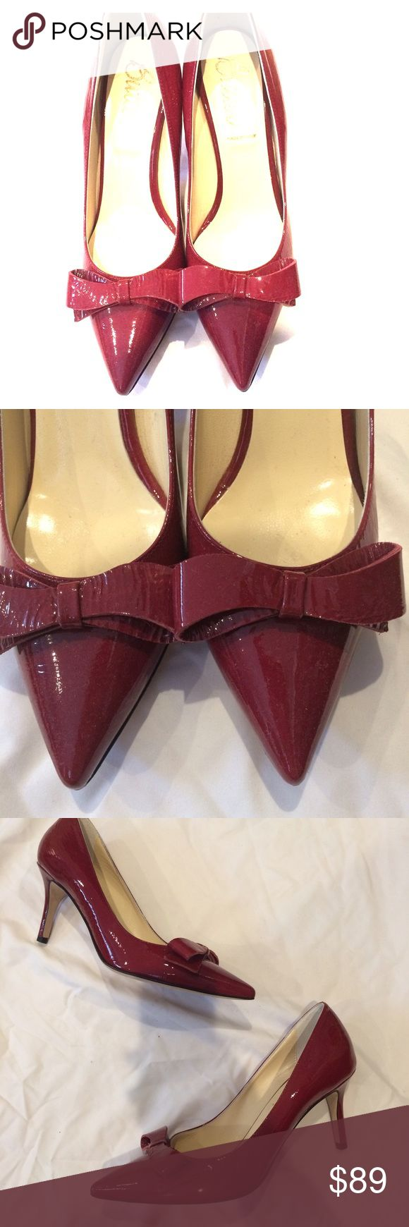 Beautiful Italian Made Shoes!! 👠 These patent cranberry colored BUTTER shoes are absolutely gorgeous!! Never worn only tried on around the house!! 👠 These shoes are classic and very well made!!! Butter Shoes Shoes Heels