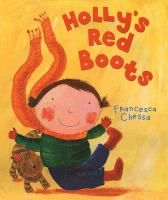 "We read ""Holly's Red Boots"" by Francesca Chessa at our winter themed storytime on Monday, January 9, 2017."