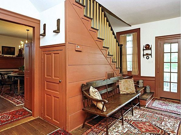 55 best colonial foyers images on pinterest stairways colonial