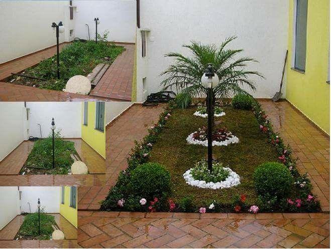 17 best ideas about jardines para casas peque as on - Jardines de casas pequenas ...