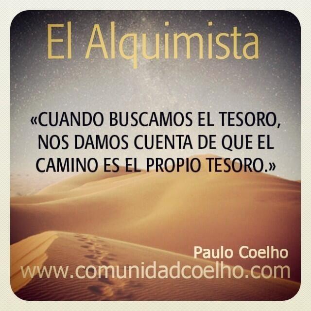 """La Sabiduría de """"El Alquimista"""" #PauloCoelho"""