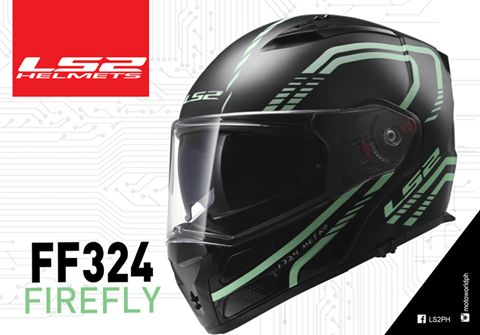 LS2 FF324 Firefly Helmet!!  LS2's FF324 re-imagines the possibilities of a modern, full-face modular motorcycle helmet. It starts with the aerodynamic shell built from our exclusive Kinetic Polymer Alloy (KPA). This super strong alloy offers exceptionally lightweight and a bit of flexibility for energy absorption with penetration resistance that rivals that of high-end composites. The Metro is dual-homologated as both a full-face and open-face helmet.