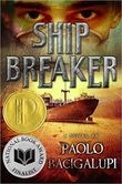 Ship Breaker by Paolo Bacigalupi - Along the Gulf Coast, where grounded oil tankers are being broken down for parts, Nailer, a teenage boy, works the light crew, scavenging for copper wiring just to make quota--and hopefully live to see another day. When he discovers an exquisite clipper ship beached during a recent hurricane, Nailer faces the   decision of his life: strip the ship or rescue its lone survivor, a beautiful and wealthy girl who could lead him to a better life. . . .