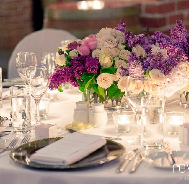 A touch of purple #weddings #sirromet #sirrometwines