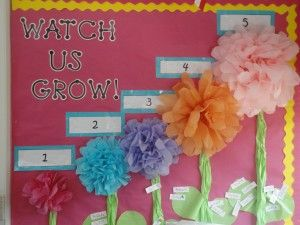 Accelerated reader board..such a cute idea for a garden themed classroom.