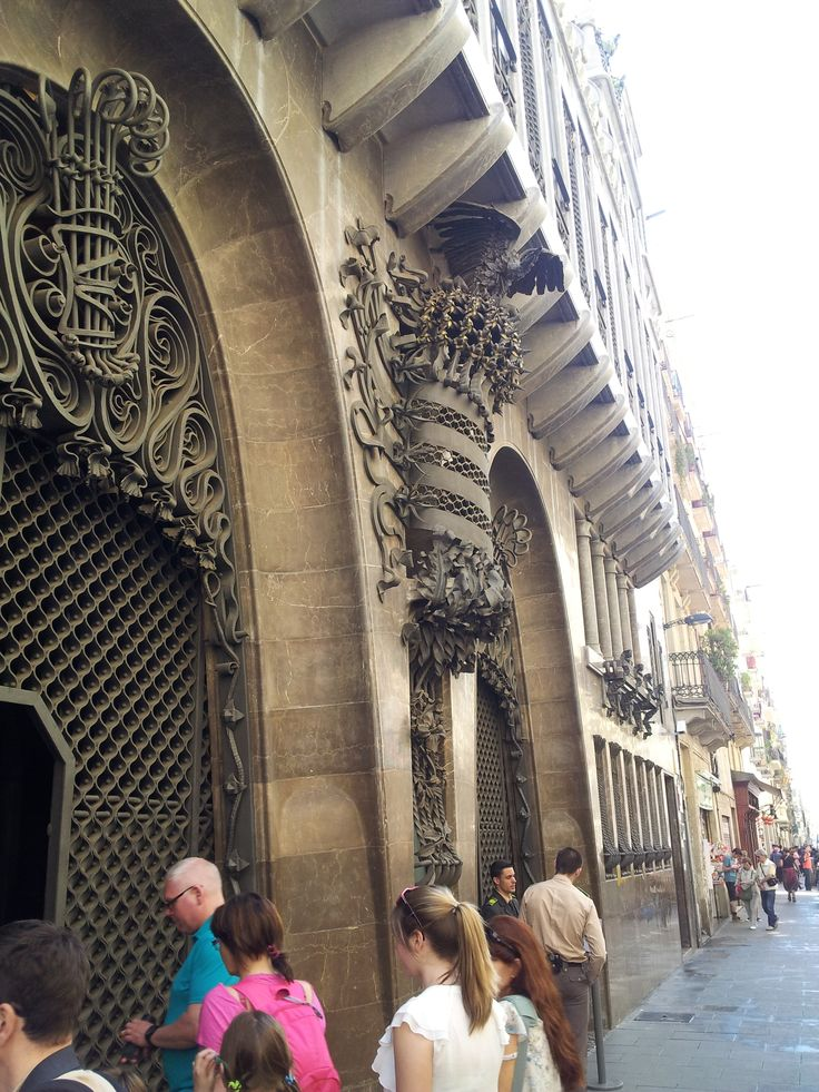 Guell Palace - exterior