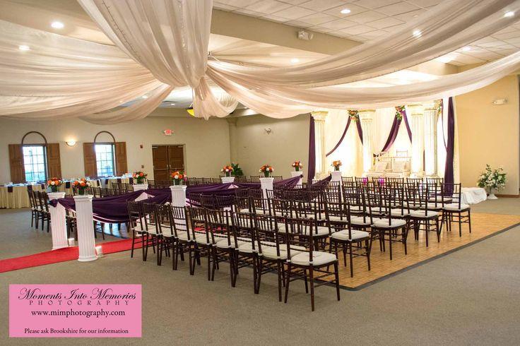Columbus Ohio Wedding Reception Venues | Brookshire Facility Gallery #ceremony #brookshireweddings