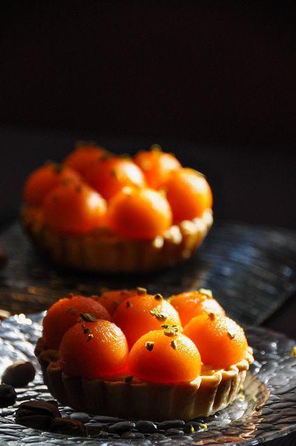 Tartelettes au melon de Cavaillon