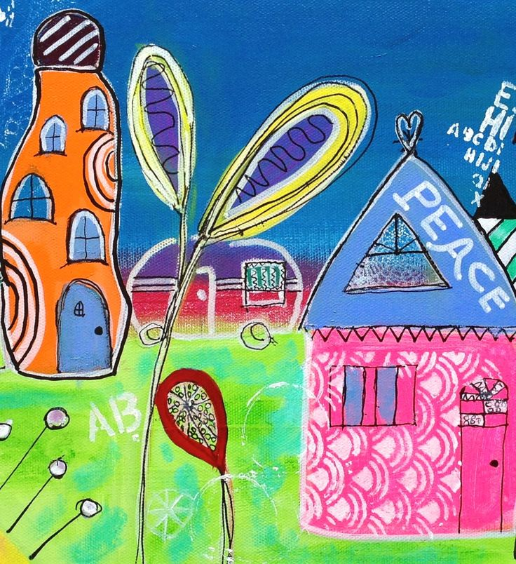 Crop of Funky Town which I've had made into prints on Hannemuhle paper