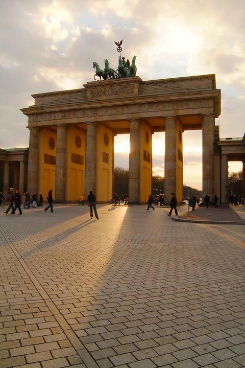 Brandenburger Tor in Berlin, Germany.
