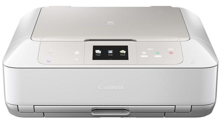 Available in black, white and even orange the Canon Pixma MG7550 prints great photos and can also print direct to DVD, CD and other printable discs.