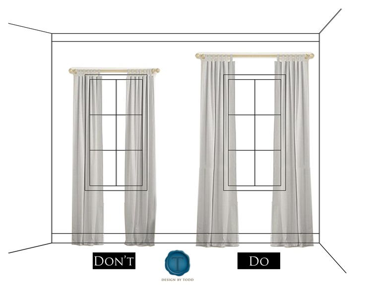 Perfect How To Hang D From The Ceiling Curtains Easy Way Hl19