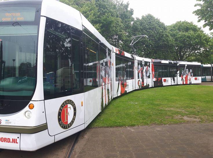 """Rotterdam RET """" Feyenoord kampioen tram """"op 14/5-2017"""
