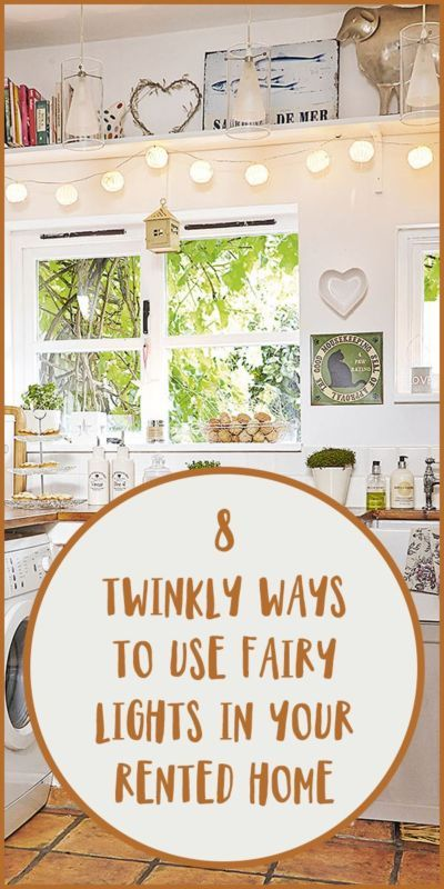 8 Twinkly Ways to Use Fairy Lights in Your Rented Home
