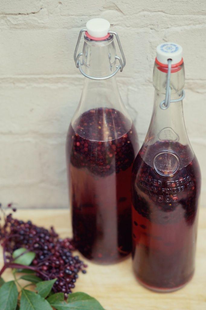 elderberry vodka