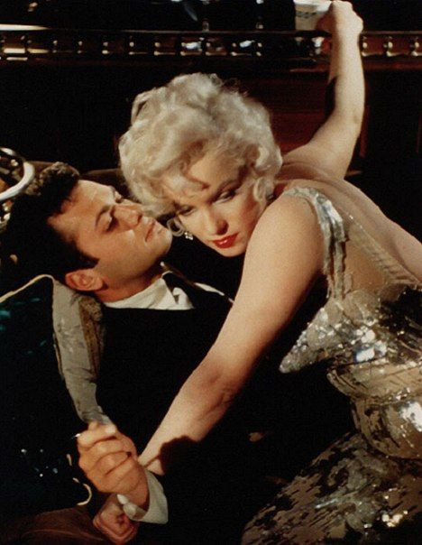 Tony Curtis Vintage Hollywood Norma Jean Marilyn Monroe Some Like It Hot