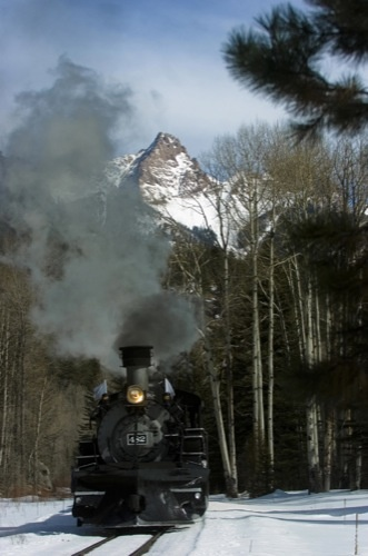 Durango ans Silverton Narrow Gauge Railroad, I did this trip it was awesome!!