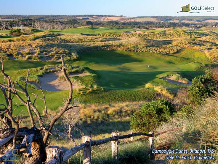 PowerfulGolfTips.com - Barnbougle Dunes is such a remarkable golf course (located in the picturesque north of Tasmania, Australia). #golfcourses #golf