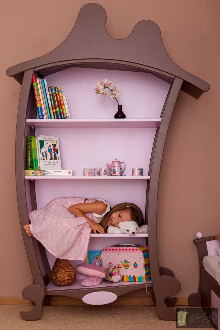 Kids Bookcase - TiGeRi Kids Furniture