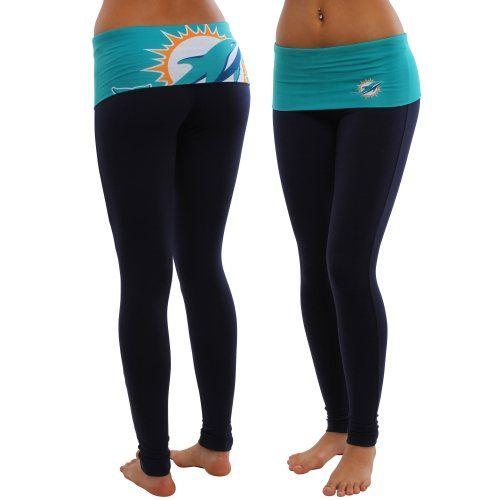 Miami Dolphins Ladies Sublime Leggings - Black