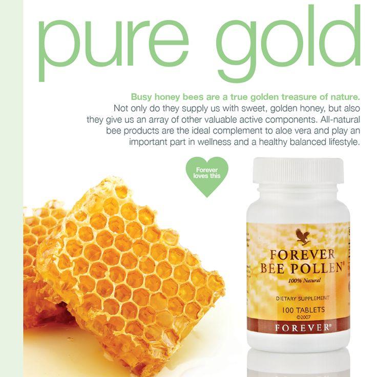 De voedingsstoffen in bijenpollen worden gemakkelijk door het lichaam opgenomen. Bijenpollen bevatten alle belangrijke voedingsstoffen die nodig zijn voor een goede gezondheid, waaronder zestien verschillende vitaminen en alle noodzakelijke mineralen. #ForeverBeePollen