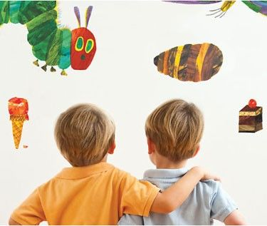 The Very Hungry Caterpillar Vinyl Wall Stickers Part 44