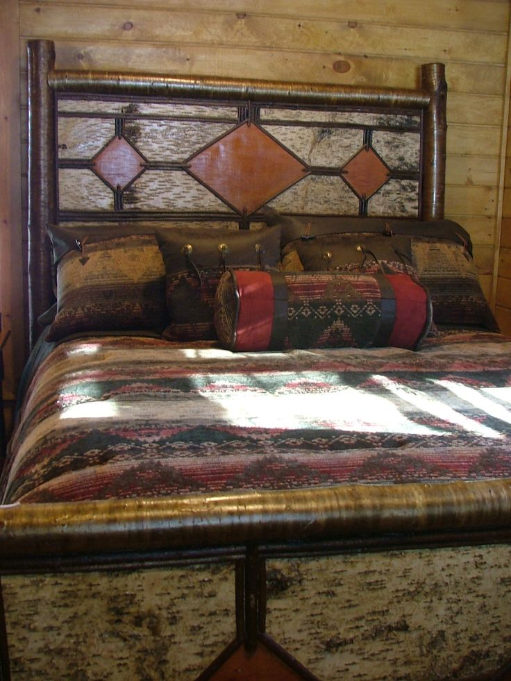 86 best images about twig furniture on pinterest western furniture folk art and furniture Adirondack bed frame