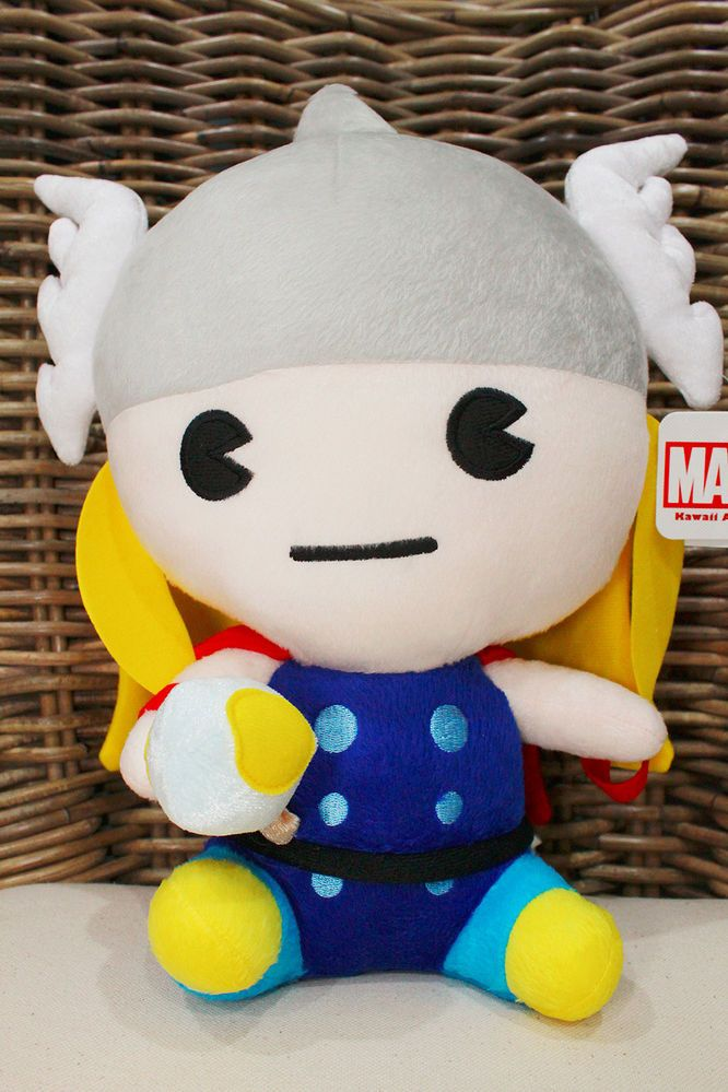 "NEW Baby Thor Plush Doll Marvel Heroes The Avengers Action Figure 12"" high 