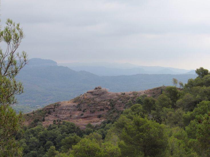 La Pedra de l'Àliga. 669m.