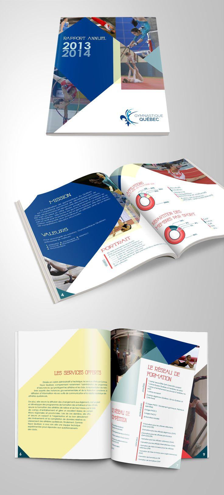 Mise en page pour le rapport annuel 2013-2014                                                                                                                                                      Plus