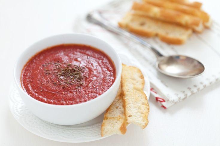 Zuppa di pomodori arrosto ricetta