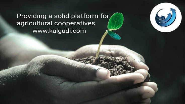 Agricultural cooperative is a place where farmers pool their resources in certain areas of activity. Cooperatives serve both to connect farmers and to increase food production.  Kalgudi empowers agricultural cooperatives and its members to achieve more with timely information, promote in relevant places, simplify mundane tasks and get transparency in execution. Register with Kalgudi.com from any part of the world. It's absolutely free.