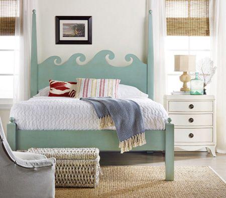 Beach house furniture and coastal decor