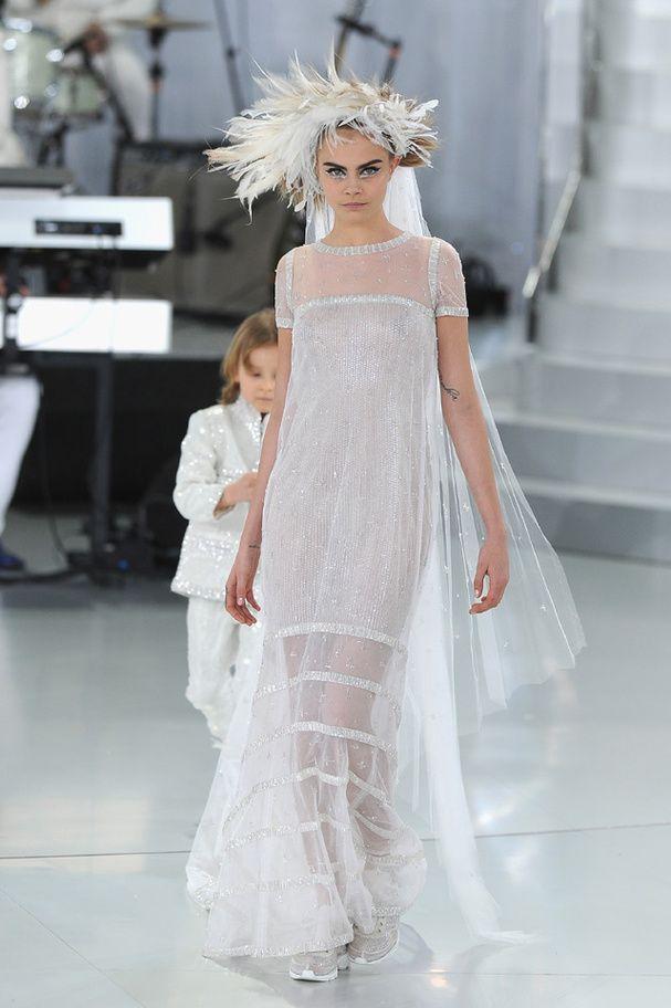 Populaire Les 25 meilleures idées de la catégorie Robe de mariée chanel sur  TR26