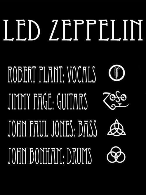 The Zeppelin Line Up