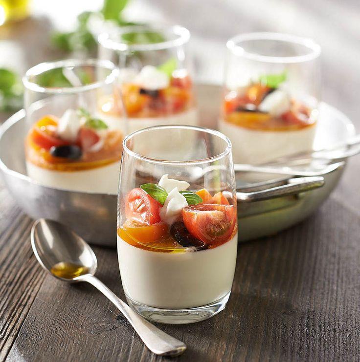 Panna Cotta de Mozzarella et Tomate - Annelyse Cuisine !