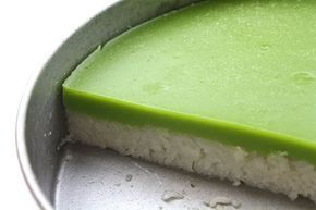 Glutinous Rice with Pandan Custard Layer or better known as Kuih Serimuka is one of the popular kuih or cakes in Malaysia. The bottom layer...