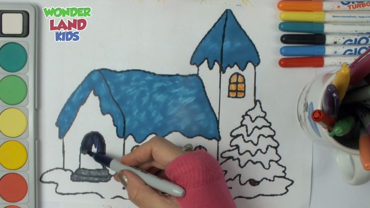 House Coloring Pages for kid - Edurcation for childs -Lern Colors
