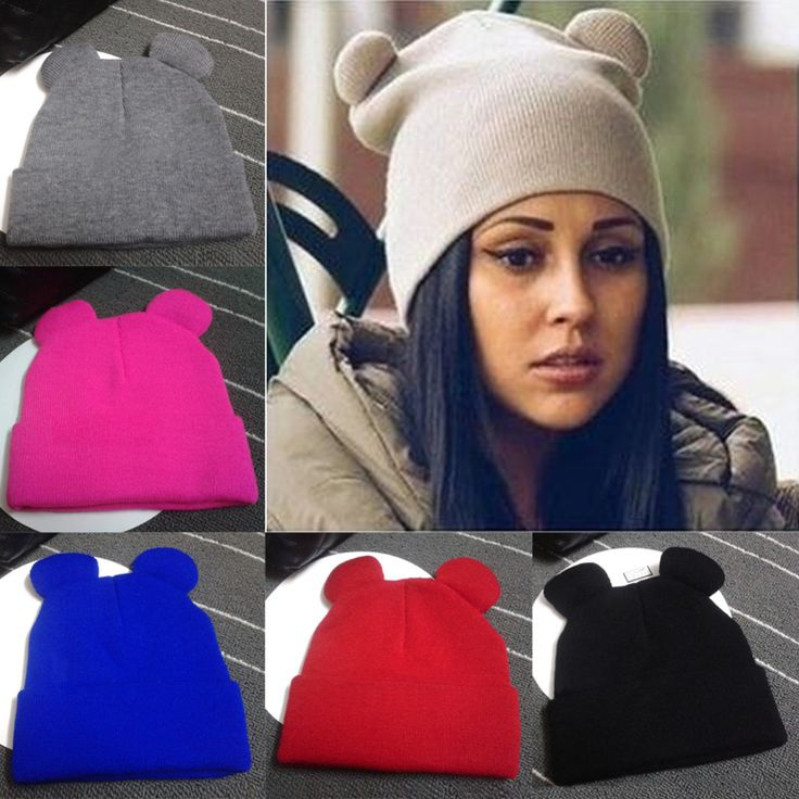 2016 Femmes Chapeaux D'hiver Chaud Tricoté Tresse Chapeau Avec Oreilles de Femmes de Chapeau Casquettes Tricotées Femme Bonnets Hip-Hop Skullies Bonnet Femme