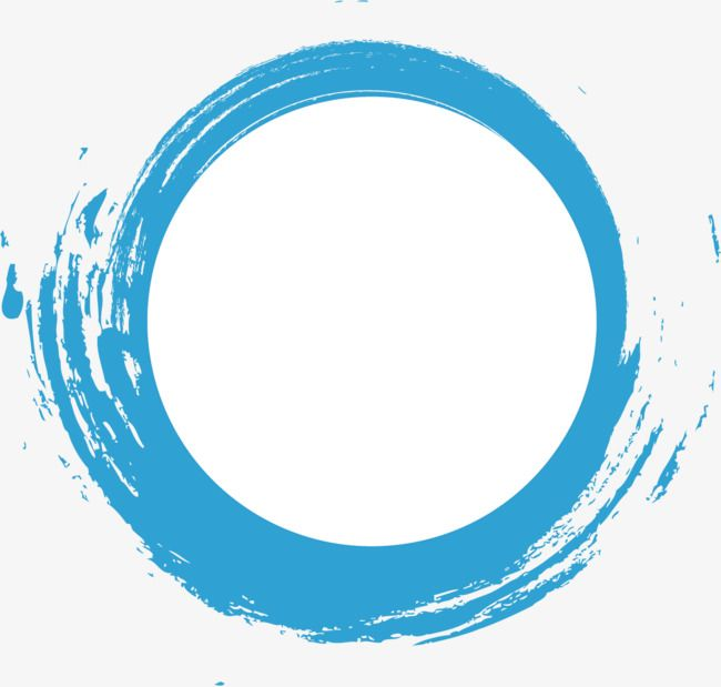 Sinij Krug Akvarel Punktirnoj Linii Material Blue Watercolor Art Logo Sky Logo