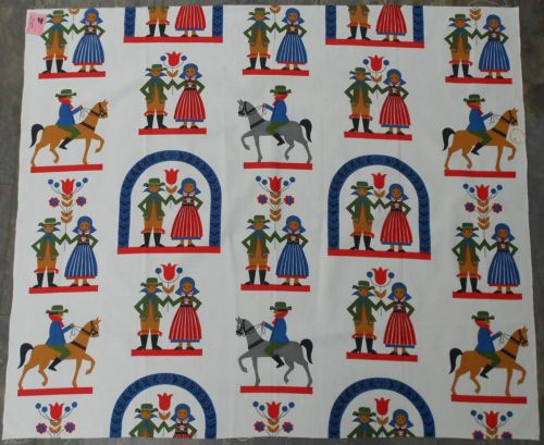 Children 39 s vintage fabrics a collection of ideas to try for Horse fabric for kids
