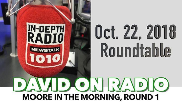 David On Radio NewsTalk1010 Roundtable (Moore in the