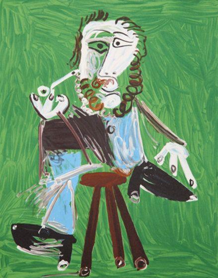 Homme à la Pipe Assis 1, 1969