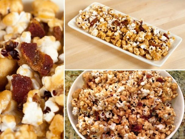 Bacon and Cashew Caramel Corn | Homemade Food Recipes