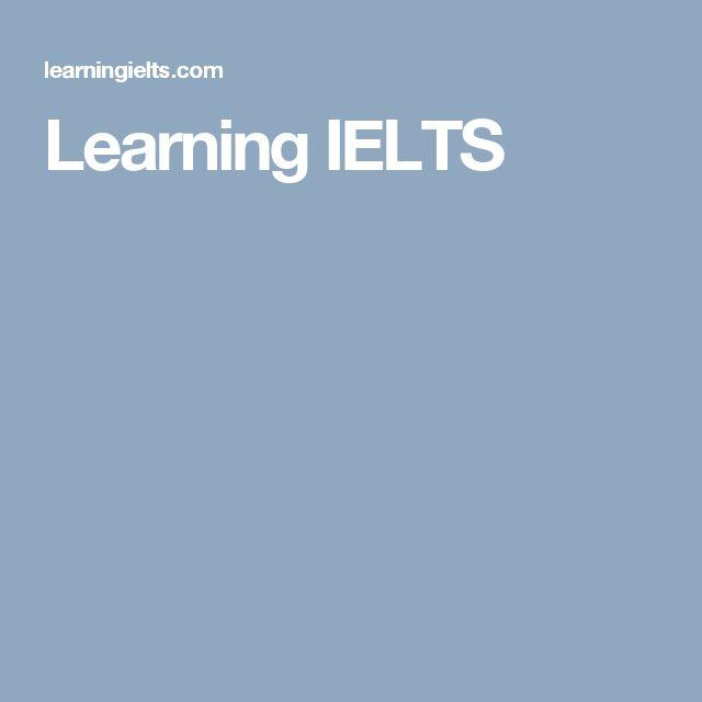 Learning IELTS