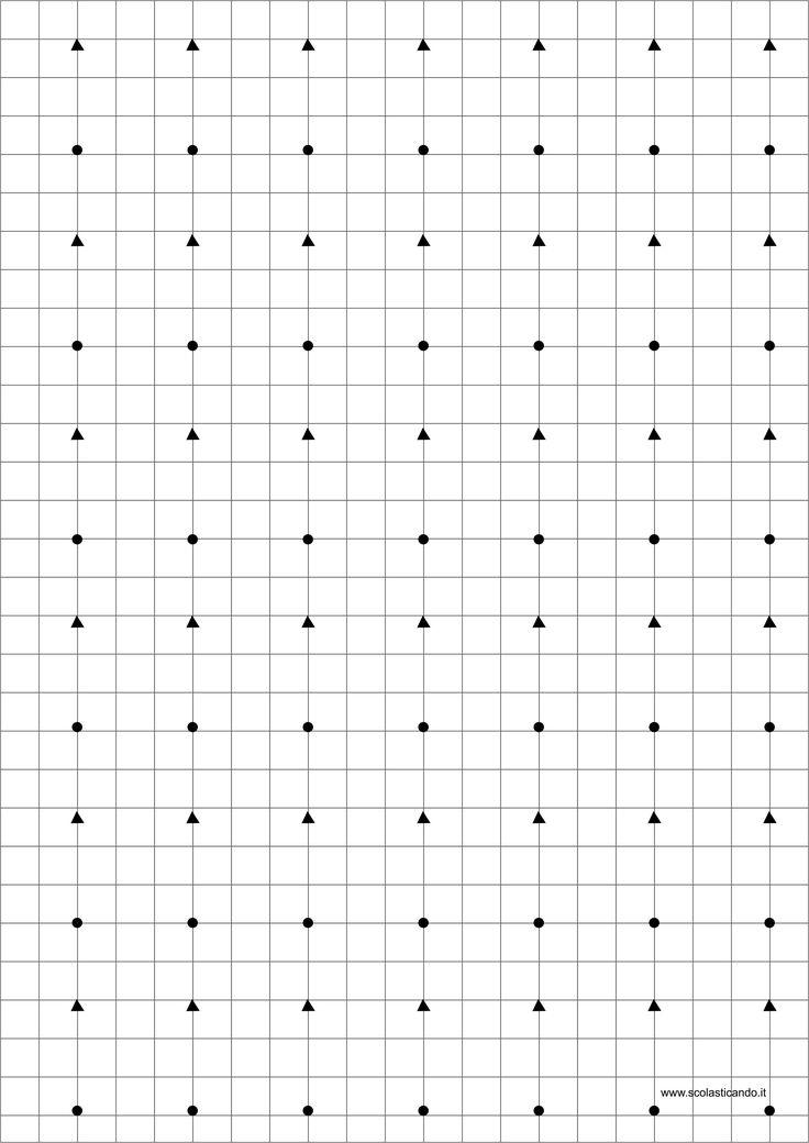 Pregrafia: le linee rette
